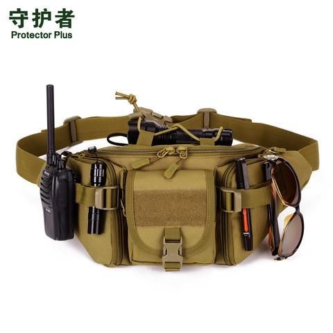 2017 Hot Canvas Waterproof Waist Belt Bag For Men Bum Fanny Waist Pack Bags Military...