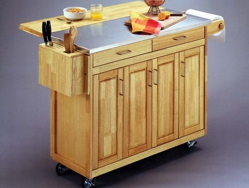 1000 ideas about mobile kitchen island on pinterest Kitchen utility island