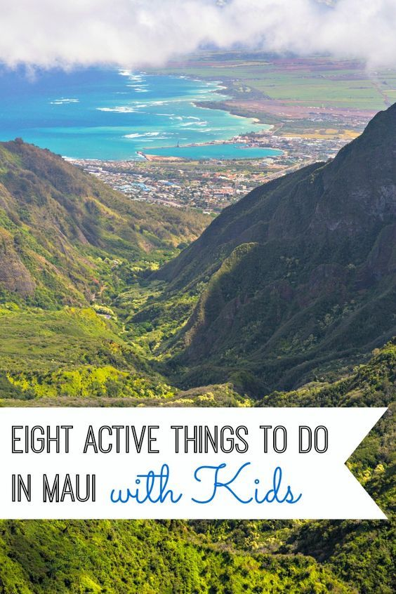 The Valley Isle of Maui is filled with incredible sites on land and at sea. Here are 8 active and fun things to do in Maui with kids. (Credit: Hawaii Tourism Authority, Tor Johnson) | Hawaii Travel