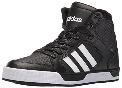 adidas NEO Men\u0027s Raleigh Mid Fashion Sneaker Black/White/Black 10 ...