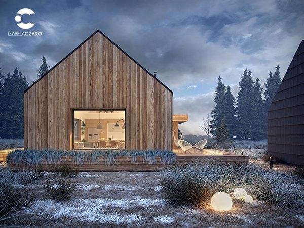 Simplicity Scandinavian House With Wood Characteristics Home Design And Interior Modern Barn House Scandinavian Home House Designs Exterior