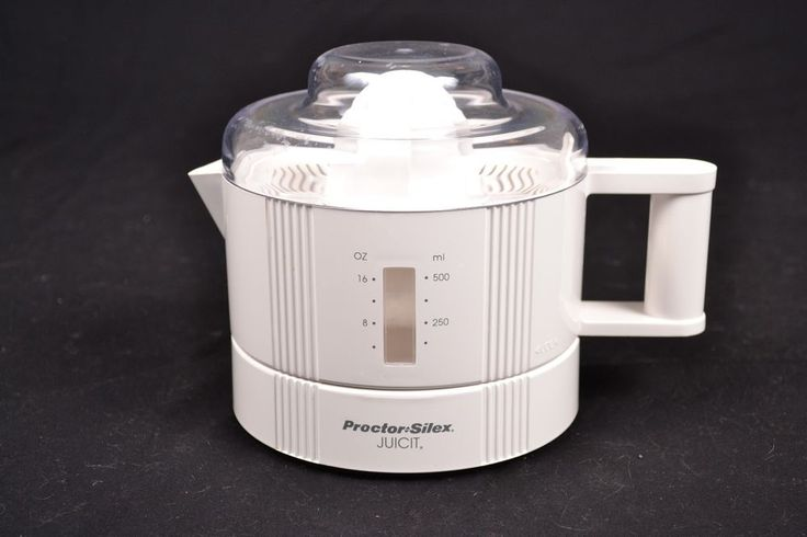 Small Juicer Proctor Silex Juicit 16 oz Electric Model #66100R Citrus Juice #ProctorSilex
