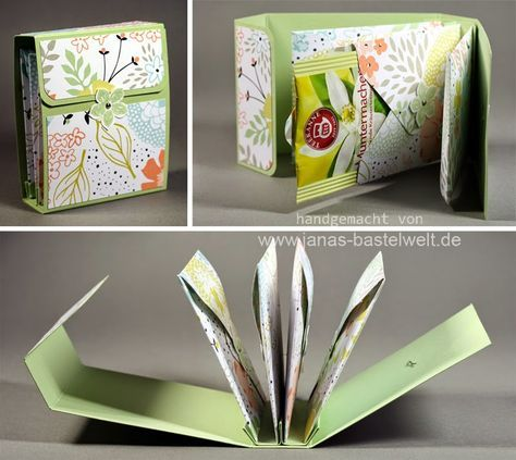 Janas Bastelwelt - Unabhängige Stampin' Up! Demonstratorin: Teebeutel-Buch