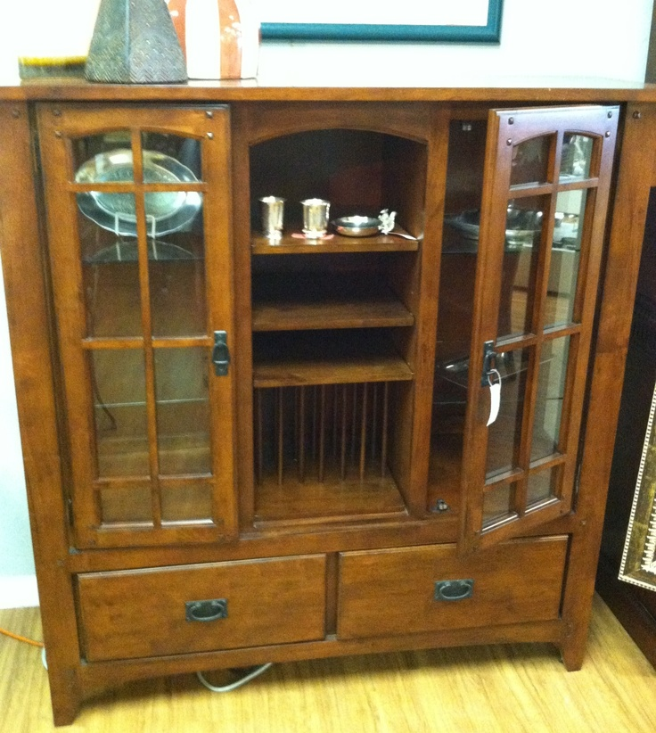 Wood dining/china cabinet
