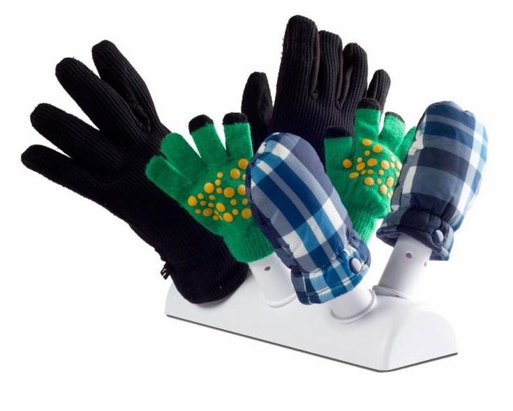 """The Green Glove Dryer"" is a Non-Electric, glove, mitten, shoe & boot dryer for use with your home or office's forced air heating system.  Simply place ""The Green Glove Dryer"" over a floor register or against a base board register and slide the wet articles on six nozzles for thorough drying inside.  ""The Green Glove Dryer"" does not require any electricity, simply using the 'recycled' heat or air already running through your home."