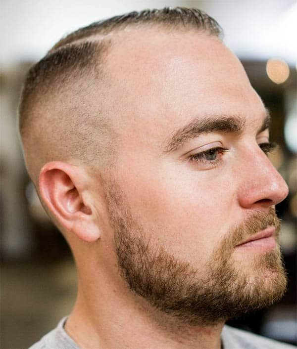 44 Mind Blowing Haircuts For Balding Men Trendiest In 2019 Haircuts For Balding Men Thin Hair Men Balding Mens Hairstyles
