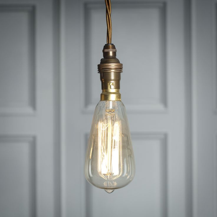 This #beautifully #dramatic #light #bulb gives a wonderful effect when lit. The #heritage #filament adds a unique touch.