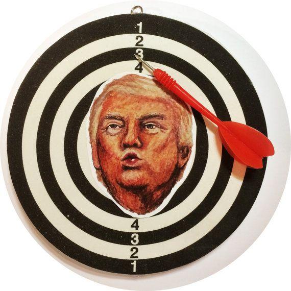 President Donald Trump Face Dart Game Fck by CatbuttCollective