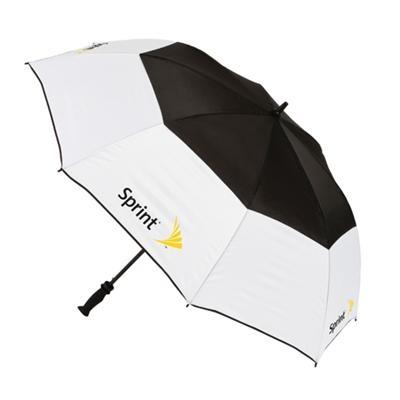 """Roel-360225 - The Visor – Parapluie de golf à ouverture automatique   Arc: 60"""" Longueur plié: 40.5 # de panneaux: 8 http://www.creatchmanpromo.ca/"""