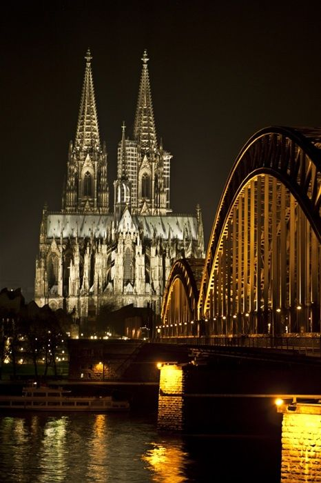 Cologne Cathedral, Germany. http://media-cache9.pinterest.com/upload/123004633542663070_XztJ6BHI_f.jpg malatesta87 places around the world