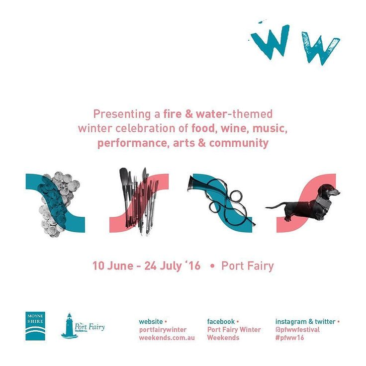 Three weeks to go! We are excited to release the #festival #program next week.  #portfairy #destinationportfairy #destinationvictoria #wandervictoria #visitportfairy #visitvictoria #pfww16 #greatoceanroad #3284 #loveportfairy  @moyneshire @visitgreatoceanroad by pfwwfestival