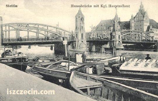 stettin germany | ... postcard of the Hansabrucke, Stettin, Germany, now Szczecin, Poland