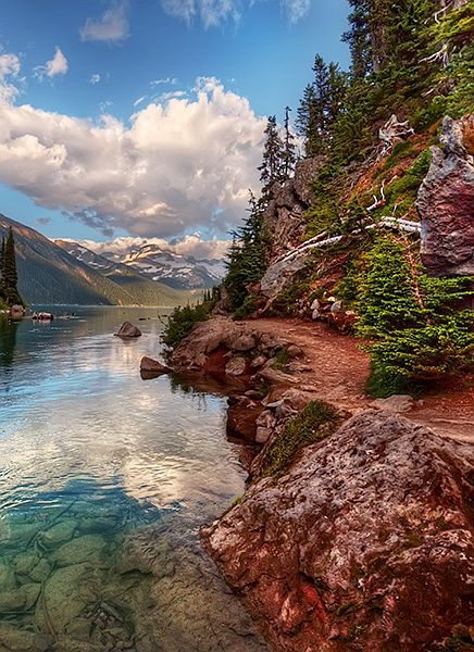 ✯ Garibaldi Lake, Garibaldi Provincial Park, Beautiful British Columbia, Canada.