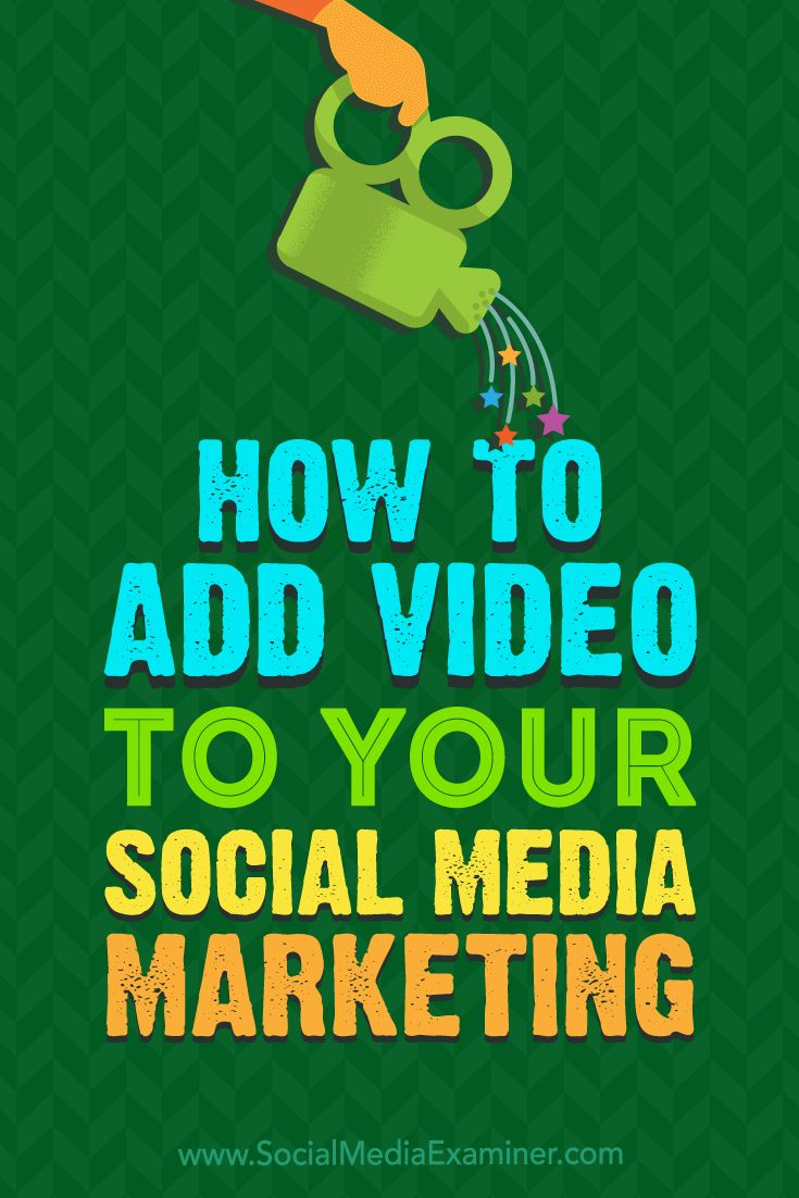 Understanding what types of video work best on each social network will help you create a well-organized video strategy.  In this article, you'll discover four tips for adding video to your social media marketing.