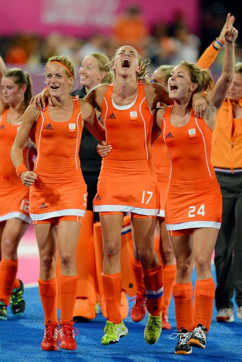 Most Out Team at Olympics, the Dutch Field Hockey Team, Takes Gold