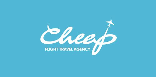 Cheap Flight Travel Agency logo • LogoMoose - Logo Inspiration