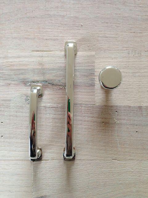 Affordable polished nickel cabinet hardware