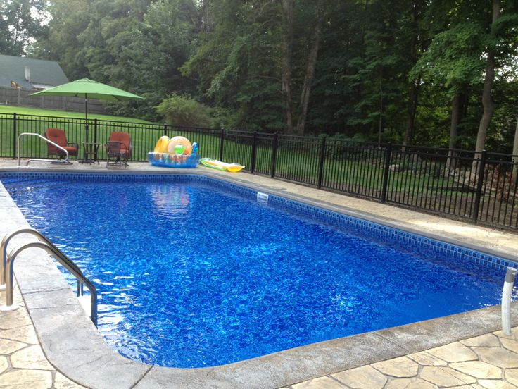 1000 images about in ground pools on pinterest vinyls for Sports pool designs