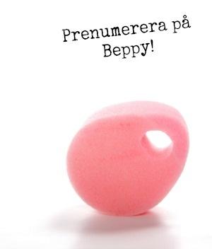 Prenumerera på mjuka tampongen Beppy! Få hem dina tamonger rakt ner i brevlådan varje månad. Fraktfritt dessutom.  www.TampongShopen.se