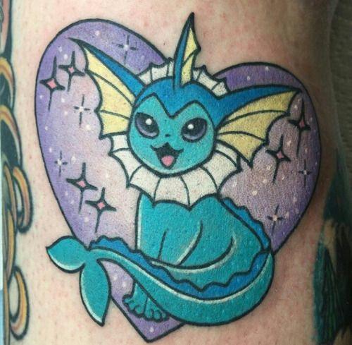 Pokemon tattoos by Alex Strangler                                                                                                                                                      More