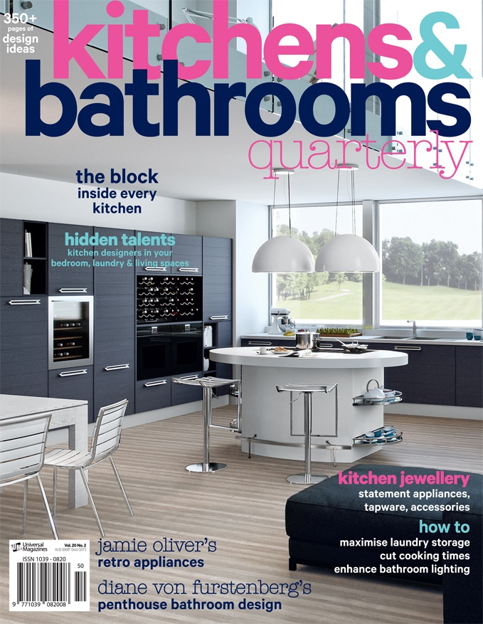 May June 2013 Issue Of Kbq Is Out Now Modern Kitchensbathroom