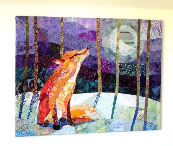 39 Best Fox Quilts Images On Pinterest Fox Fox Quilt