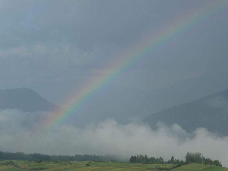 Val di Non,.. arcobaleno ...