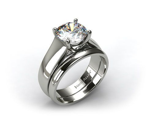 Platinum looks like the white gold but of course platinum is a metal other than gold. Platinum is a valuable metal that keeps its color throughout time.