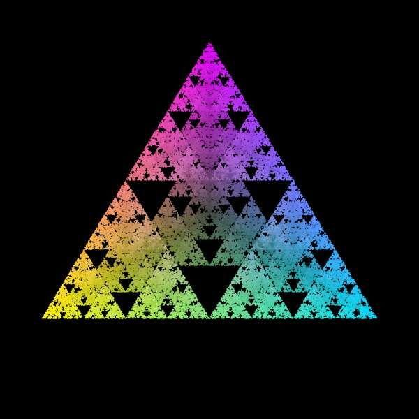 Le triangle de Sierpinski