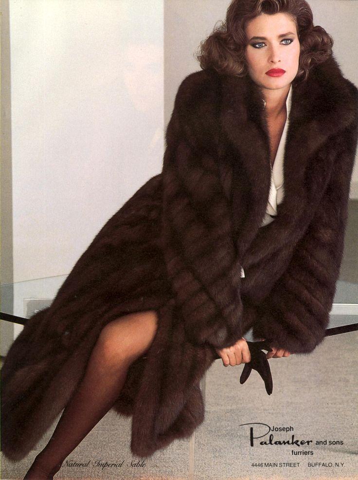 Joseph Palanker & Sons Furriers 1983 US Vogue November ...