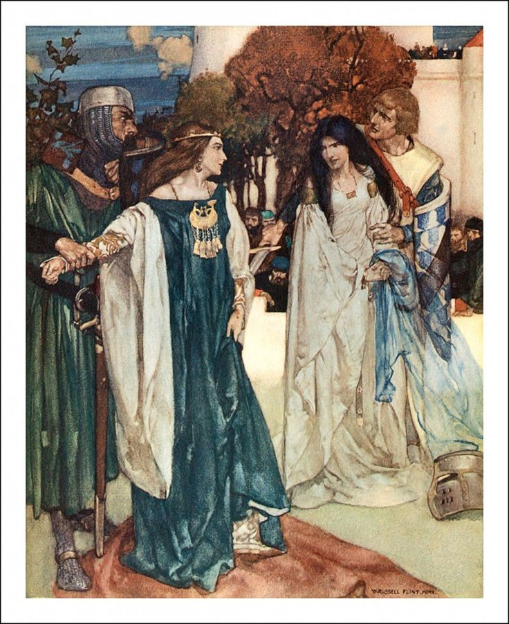 le morte dartur canterbury tales sir The canterbury tales had shown of what high uses the english language was capable or caused to be drawn and  le morte dartur  morte arthure sir john.