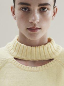 SVEK S/S '13 | neckline detail