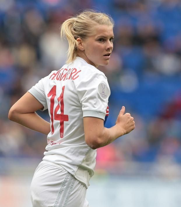Ada Hegerberg Wins Ballon D Or In 2020 Female Soccer Players Soccer Players Female Football Player