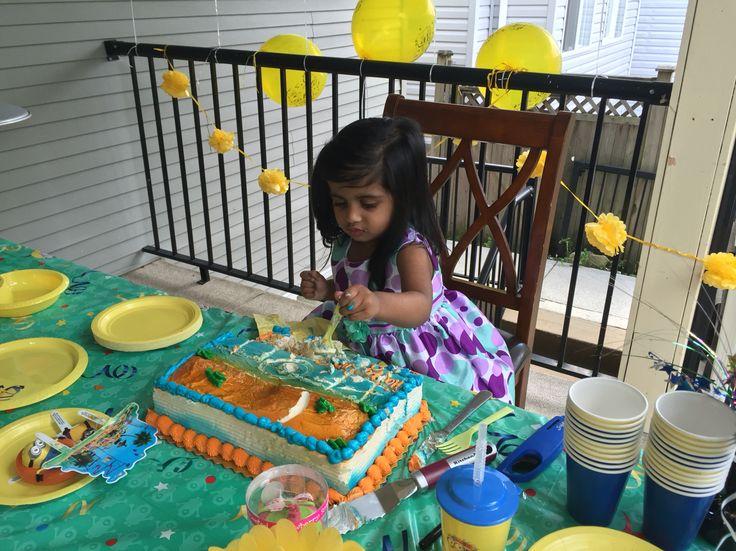 Granddaughter's birthday