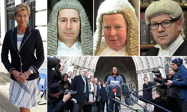 The High Court just decided the EU Referendum on June 23, 2016, didn't really count. It was just to make us feel better. To make us feel like we had a say, writes KATIE HOPKINS.