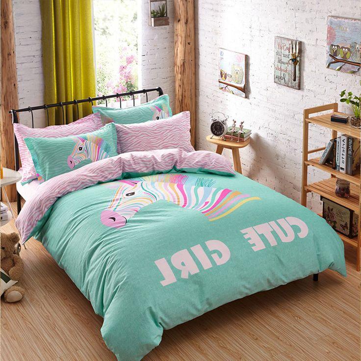 Adult/kids bedding set Red Happy boys/girls quilt duvet cover bed sheet cartoon pattern bedspread queen twin size bed linen