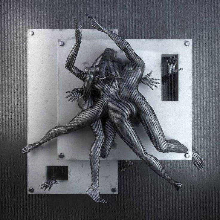 "Saatchi Art Artist Adam Martinakis; New Media, ""Cassandra complex // 3 editions (Diasec)"" #art"
