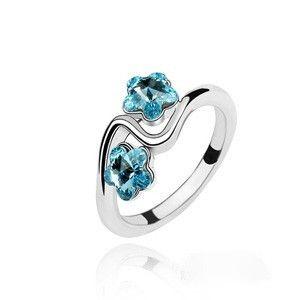 Prsten s krystaly Swarovski