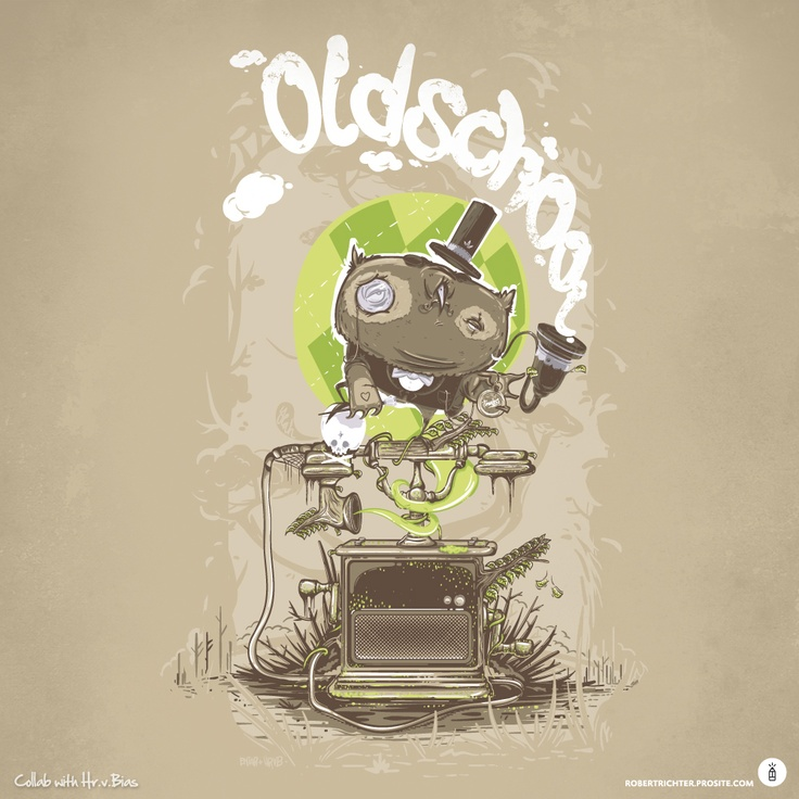 Oldschool (Collab by HRVB & Robert Richter, 2011)
