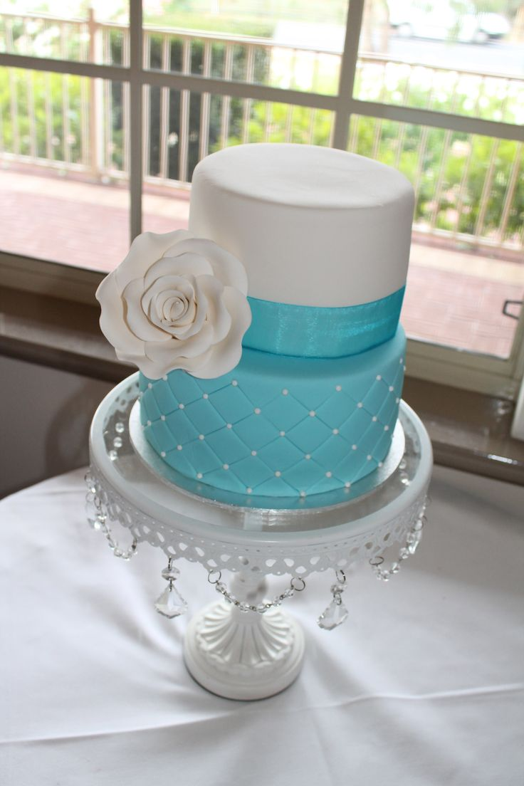 tiffany blue wedding cake my cakes pinterest the flowers the o 39 jays and wedding. Black Bedroom Furniture Sets. Home Design Ideas