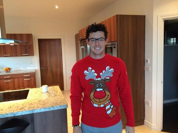 Rory McIlroy, the cutie pie on Christmas