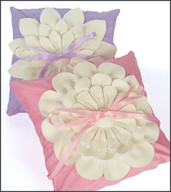 Pink And Lilac Wedding Ring Pillows Anna Totten Whitford