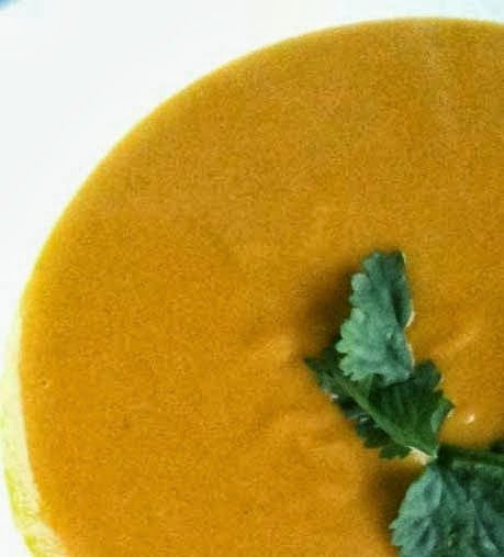 Tasty #Carrot_&_Coriander_Soup. Click For Recipe