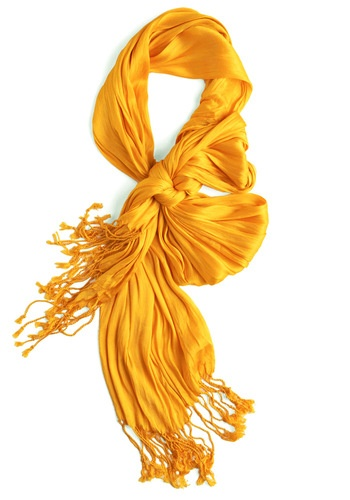 Crinkle in Time Scarf in Glow: Vintage Scarves, Yellow Scarfs, Ties A Scarfs, Vintage Scarfs, Yellow Scarves, Styles Hackers, Time Scarfs, Modcloth Com, Retro Vintage