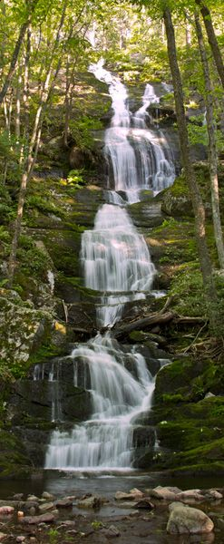 Buttermilk Falls Trail - Delaware Water Gap National Recreation: be aware not all the trails are marked on the map, and bring plenty of water