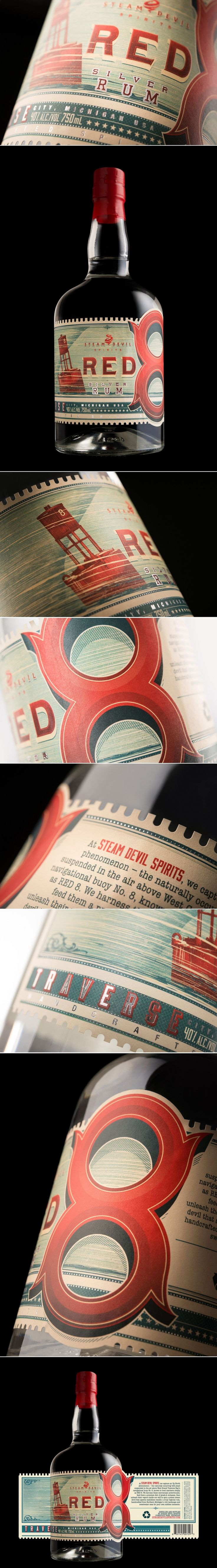 This Rum Has Some Retro Vibes — The Dieline   Packaging & Branding Design & Innovation News