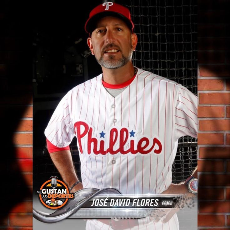 #Phillies la familia de Me Gustan Los Deportes le quiere desear buena suerte a nuestro José Flores en esta temporada 2018 su 1ra como coach en las grandes ligas. #MLB #MGLD