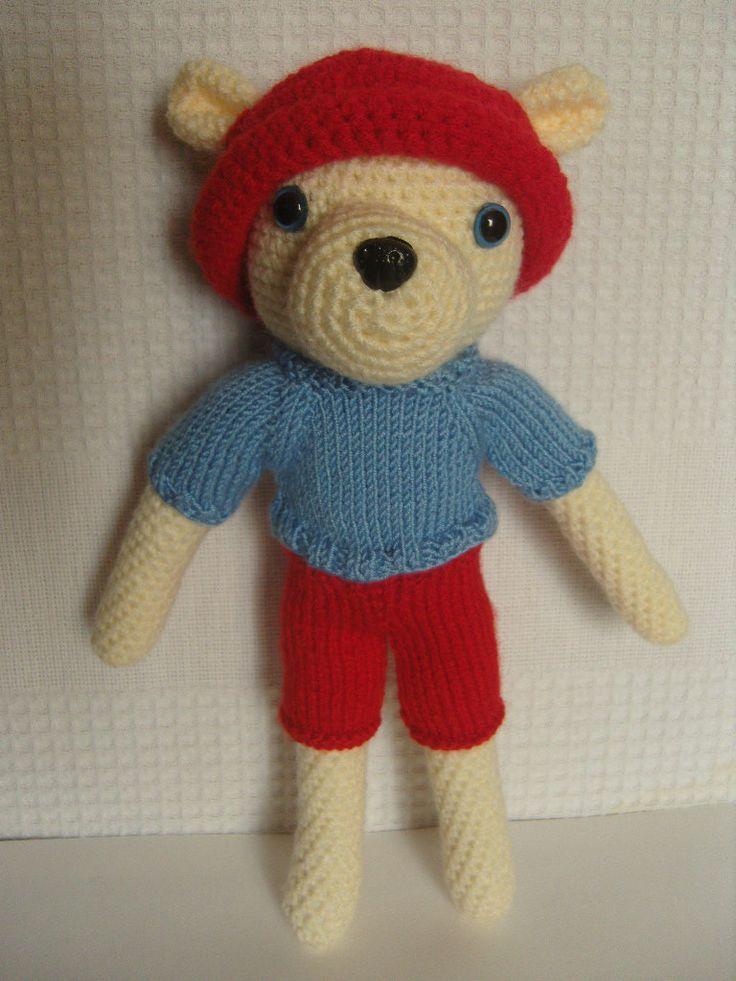 Amigurumi doudou nounours au crochet : Jeux, jouets par aux-fils-du-bocage