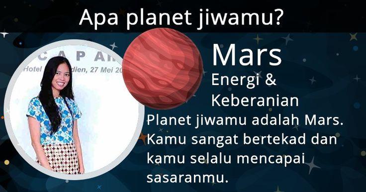 Apa planet jiwamu?