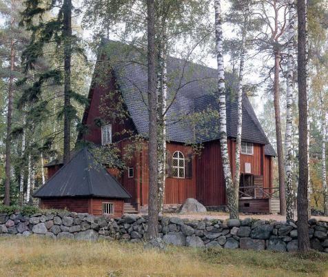 Karuna church, Seurasaari, Finland